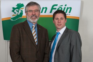 Gerry Adams & Matt Carthy