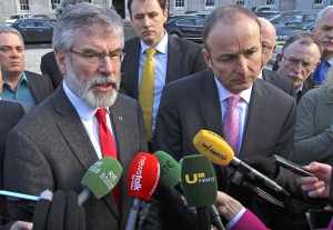 Gerry A walks out Dail