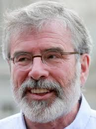 Gerry Adams Smiling