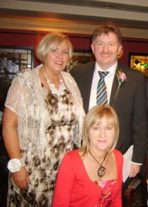 Jane Martin pictured with Cllr Pearse McGeough & Imelda Munster TD